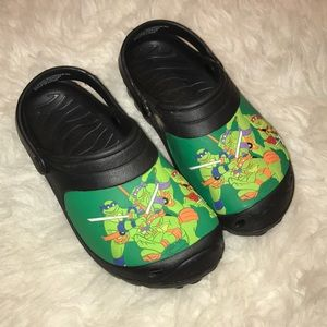 Teenage Mutant Ninja Turtle clogs!!